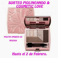 SORTEO BLOG POLINEANDO COSMETIC LOVE