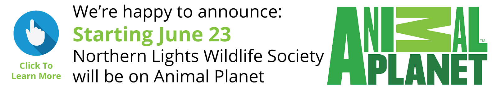 We'll Be On Animal Planet June 23