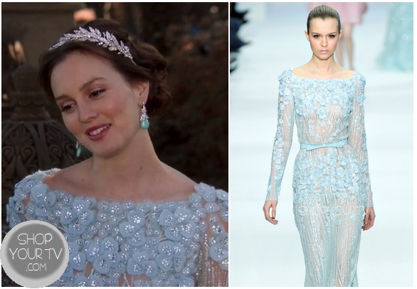 Gossip girl season 6 episode 10 blair 39 s wedding dress for Wedding dress blair waldorf