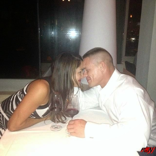 John Cena and Nikki Bella Out on a Hot Date.