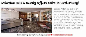 Antoniou Hair & Beauty Offers Calm in Canterbury!