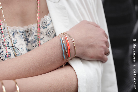 Accumulation de bracelets Judith Benita