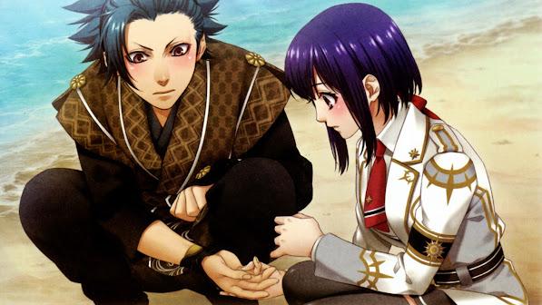 takeru totsuka and yui kusanagi kamigami no asobi anime