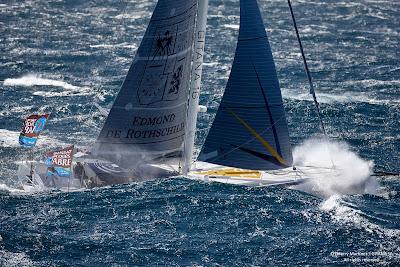 Gitana 16 et Seb Josse attendus en vainqueurs de la Saint Barth - Port la Foret demain