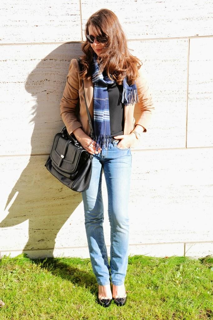 Jacket Hallhuber, Jeans Esprit