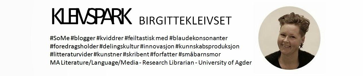 ;-/)  Gründerbloggen - nyskabing på sørlandsk