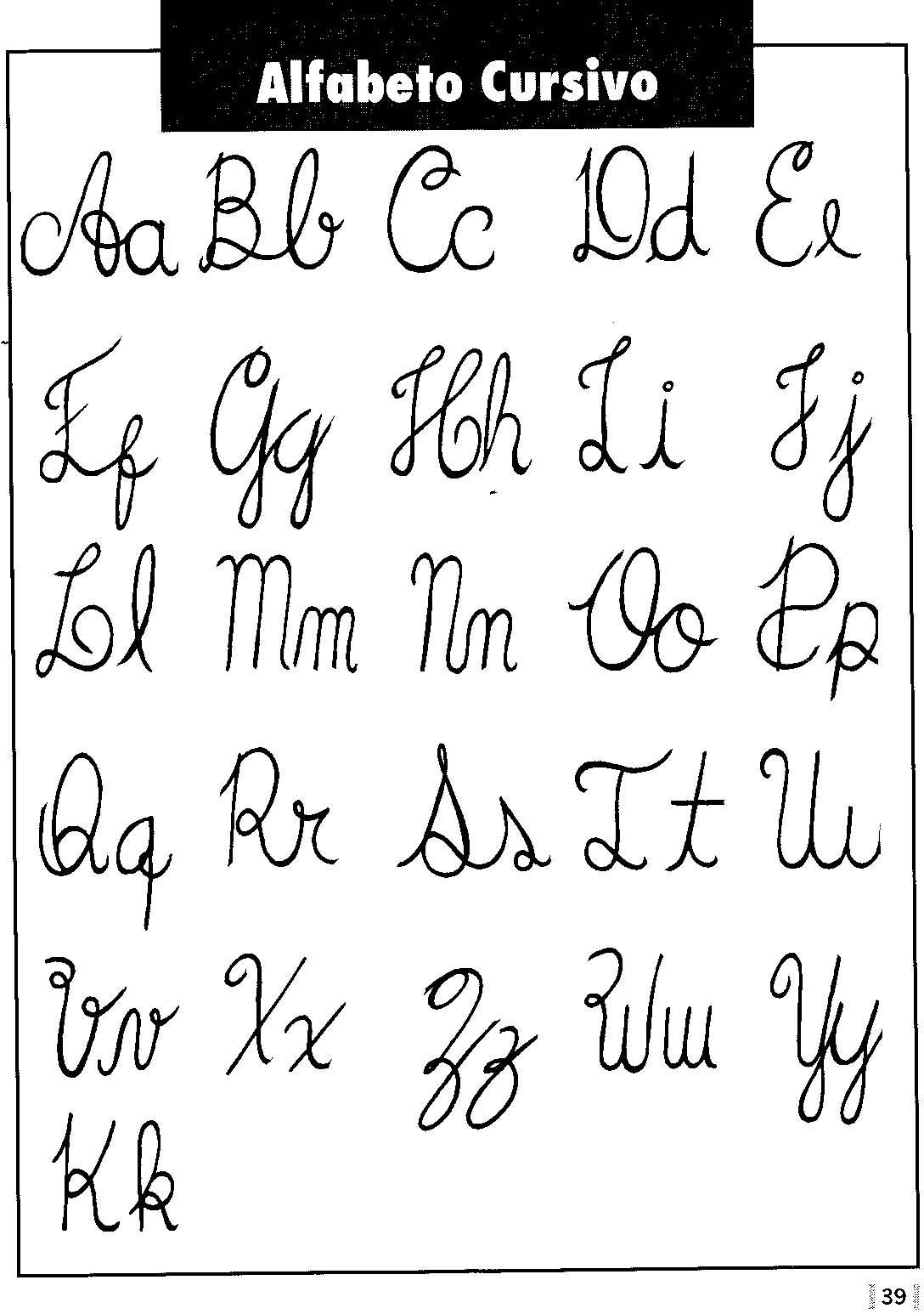 The gallery for letras bonitas cursivas - Literas bonitas ...