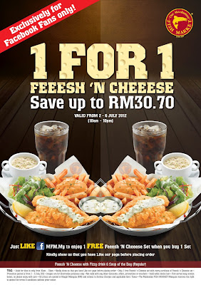 Fish Market on Freebies Malaysia  Promotions   The Manhattan Fish Market Buy 1 Free 1