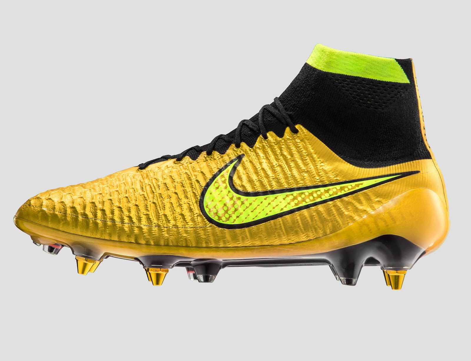 Nike Launch NikeiD Gold Pack Boots - Footy Headlines