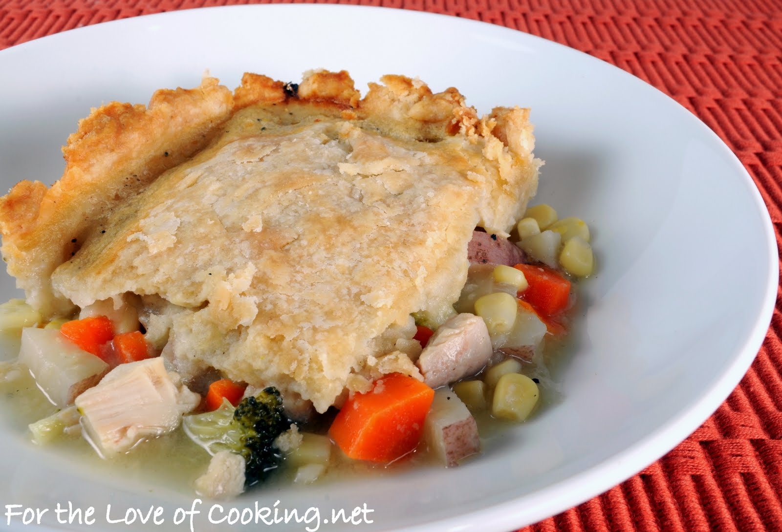Currié's Chicken Pot Pie | For the Love of Cooking