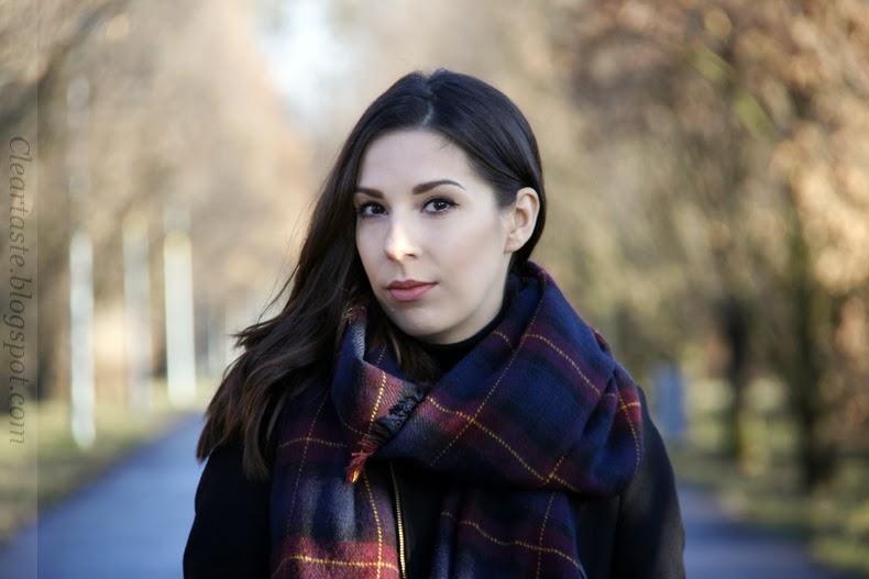 zara tartan scarf