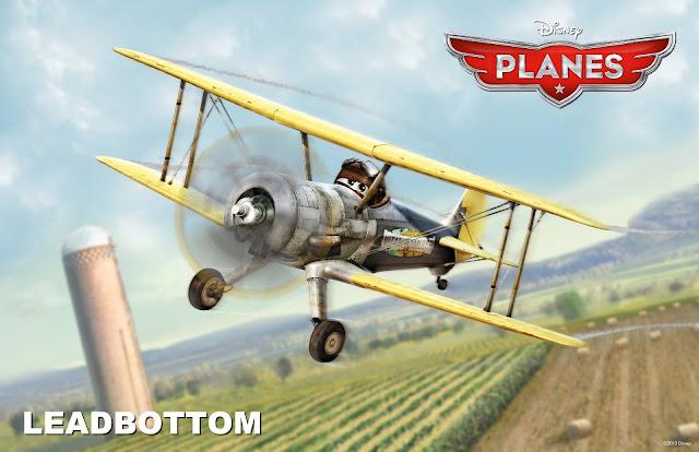 Leadbottom in Planes