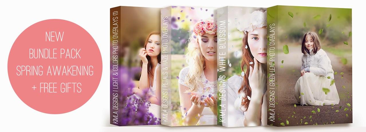 Spring Awakening Photo Overlays Bundle Pack