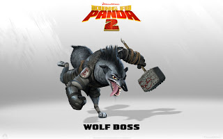 Wolf Boss Kungfu Panda 2 Movies Wallpaper