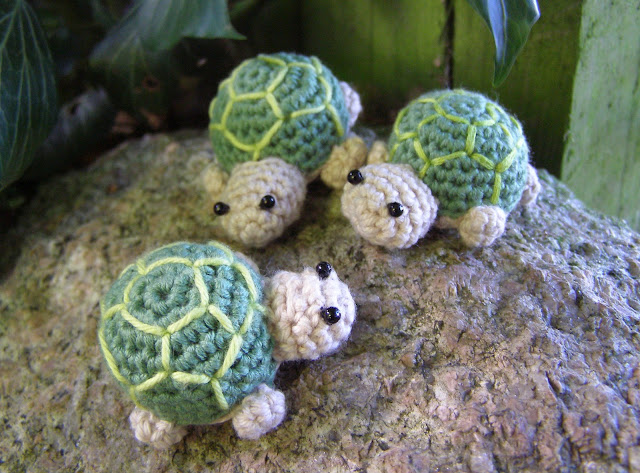 små skildpadder