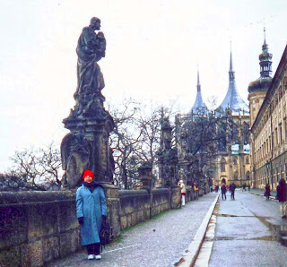 historic city in prague, holiday in gold city