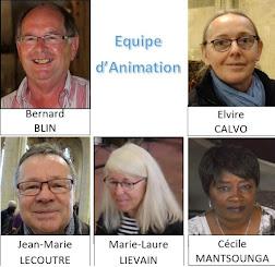L'équipe d'animation de la paroisse