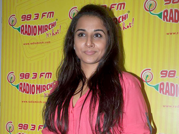 vidya balan at radio mirchi photo gallery