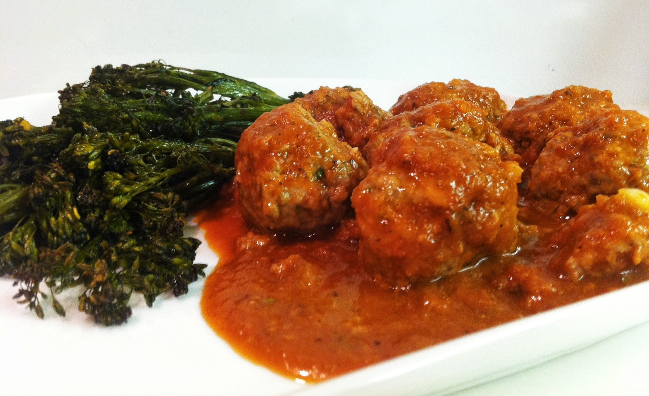 Veal Meatballs in a Red Wine Sauce   savory
