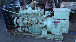 Used Marine Diesel Generator- Yanmar for Sale