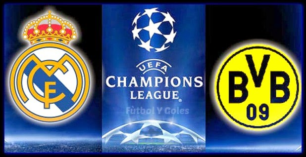 Real madrid vs borussia dortmund ida 4tos de final for Cuartos final champions 2014