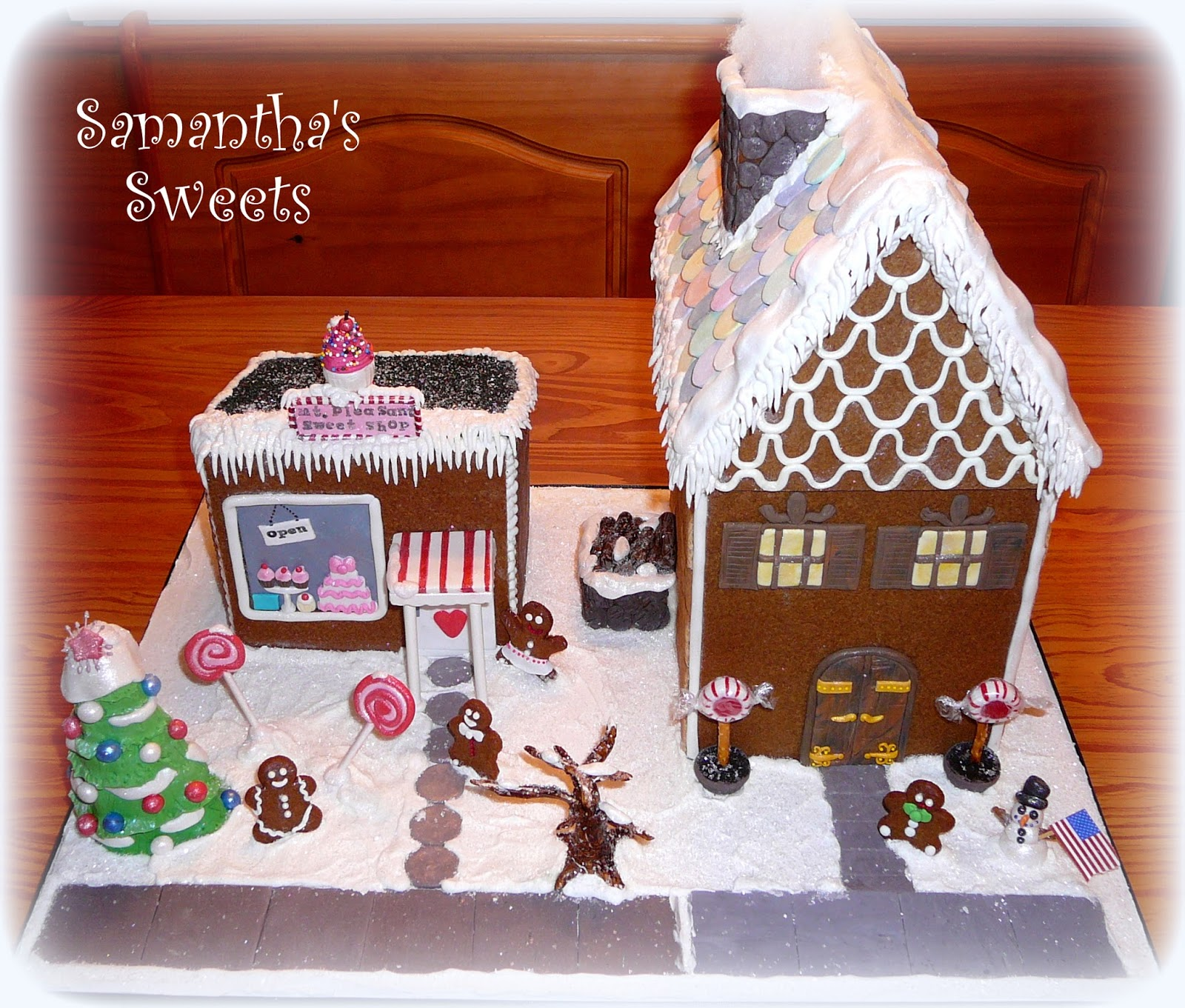 parties with cake gingerbread house tutorial. Black Bedroom Furniture Sets. Home Design Ideas