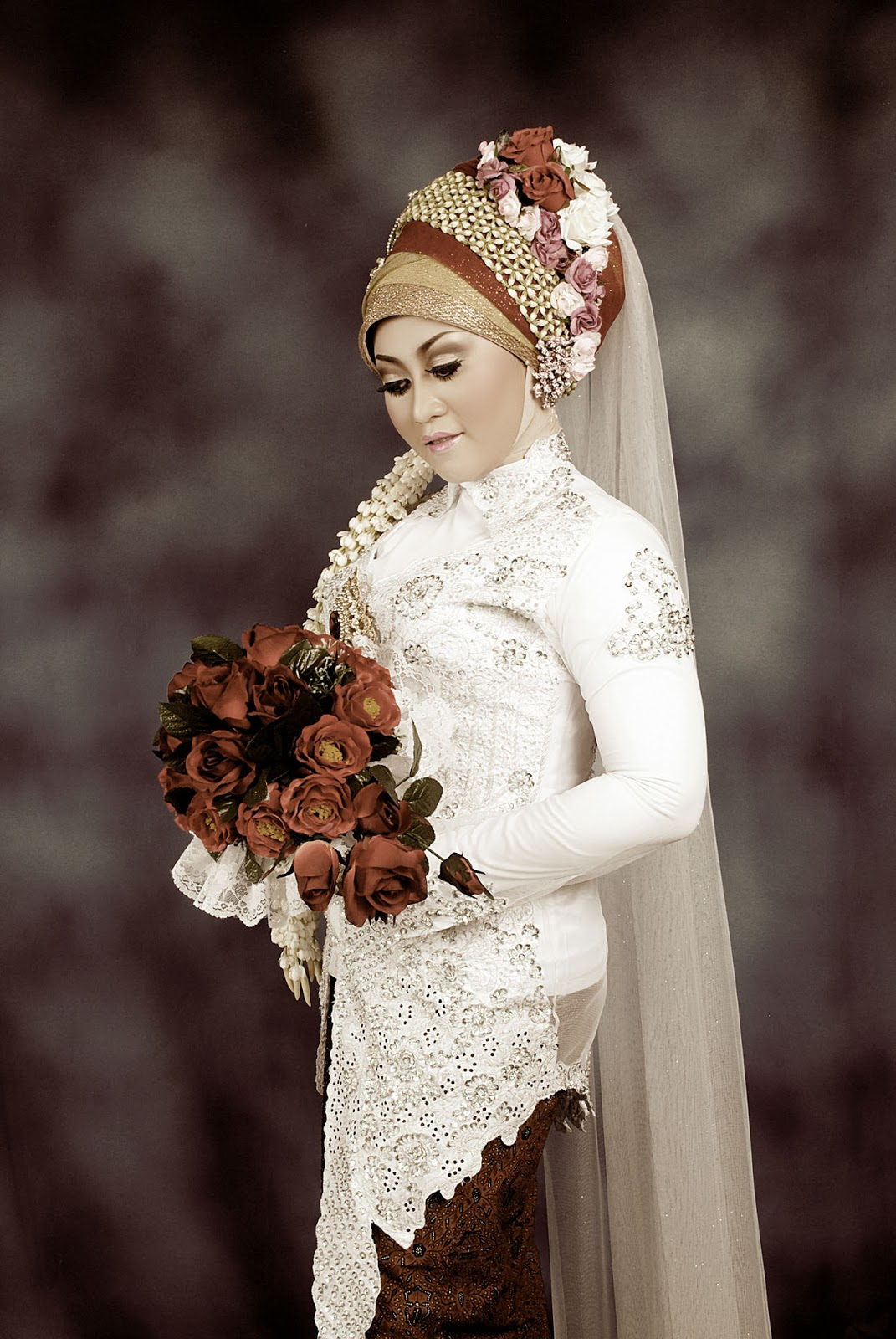 tutor jilbab pengantin tutorial rias pengantin rias