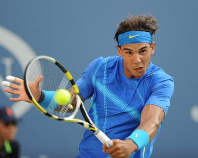 Rafael Nadal Sexy Shirtless Photos @ U.S. Open
