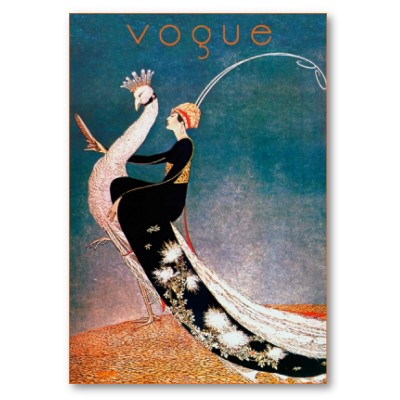 vintage vogue  more art deco