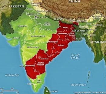 Red Corridor of India