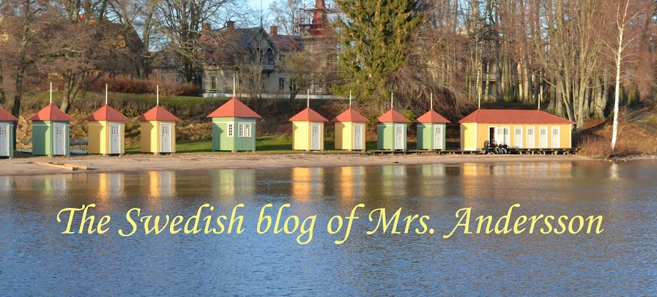 The swedish blog of Mrs. Andersson