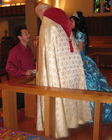 Communion at Dalia's Quinceañera