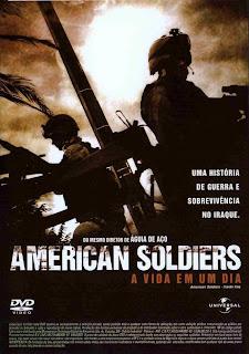 Filme Poster American Soldiers - A Vida Em Um Dia DVDRip XviD & RMVB Dublado