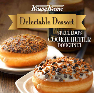Krispy Kreme Speculoos Cookie Butter Doughnut