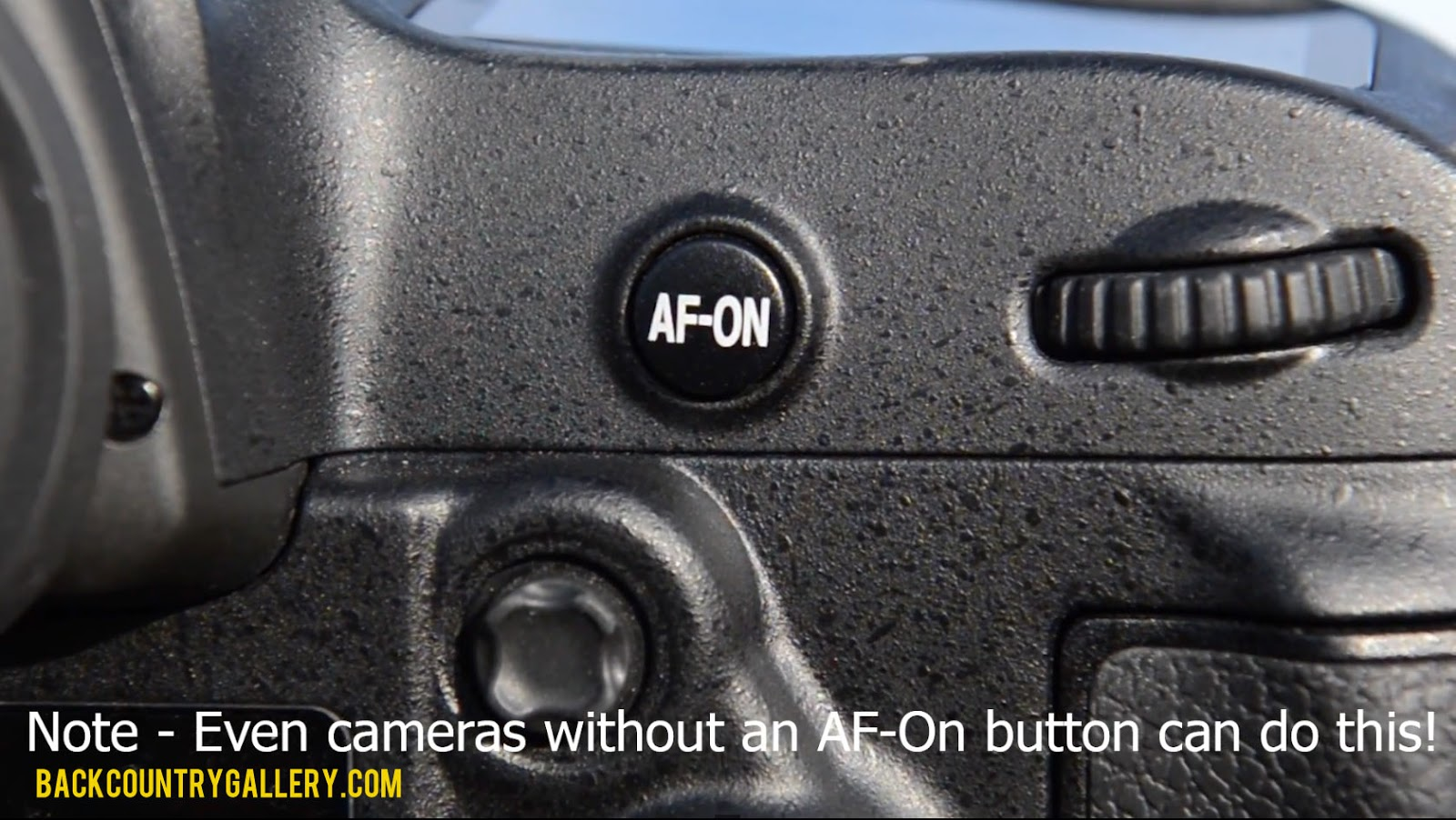 How To Use AF-On And Back Button Autofocus to make your life as photographer more easy