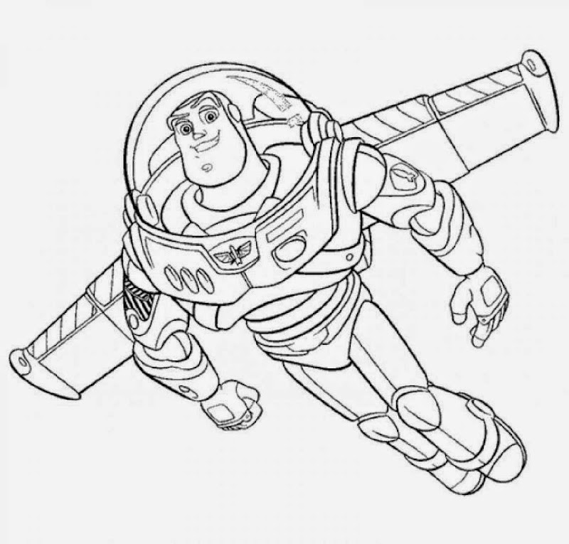 Buzz Lightyear Pictures To Print And Color