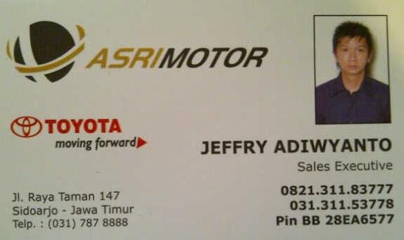 Jual Mobil Bekas, Second, Murah: Toyota Asri Motor ...