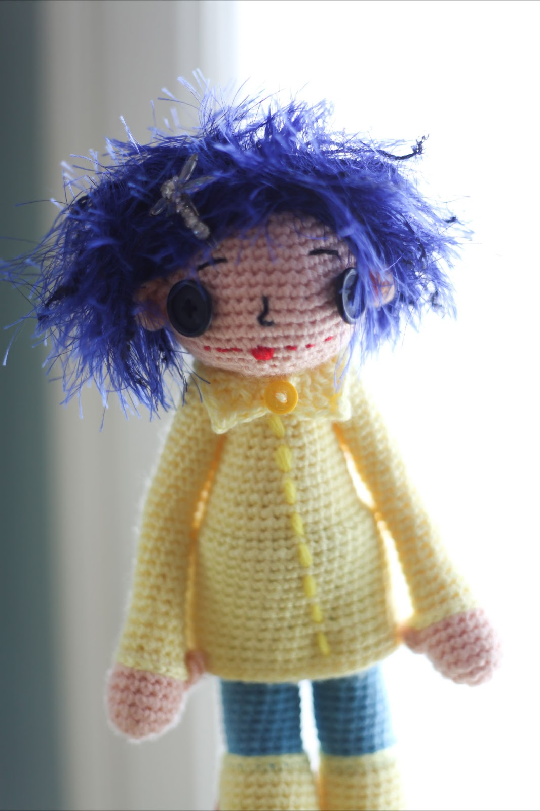 Amigurumi Button Eyes : Felted Button - Colorful Crochet Patterns: ::Forgotten ...