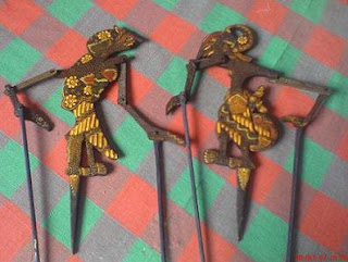 Wayang Wall Decor, Puppet Art Decor