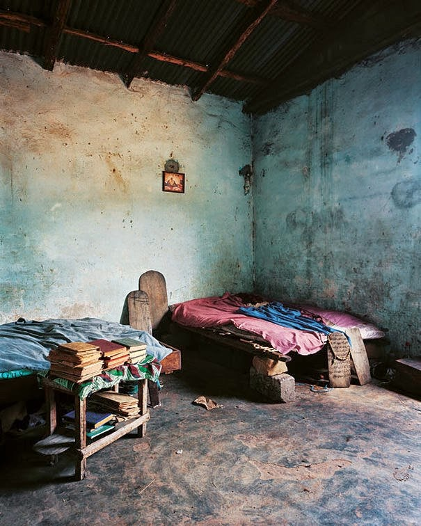 16 Children & Their Bedrooms From Around the World - Lamine, 12, Bounkiling village, Senegal - Lamine's Bed