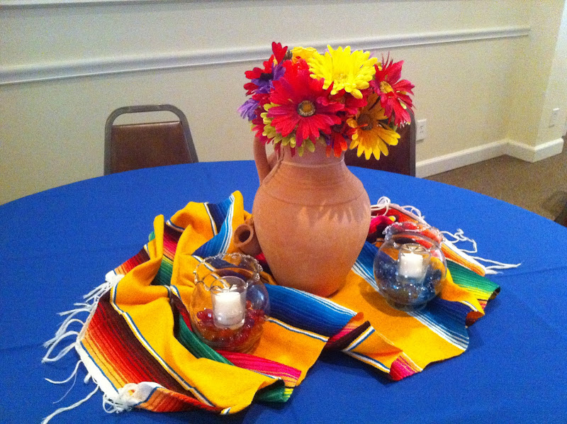 Mexican Party Table Decorations title=