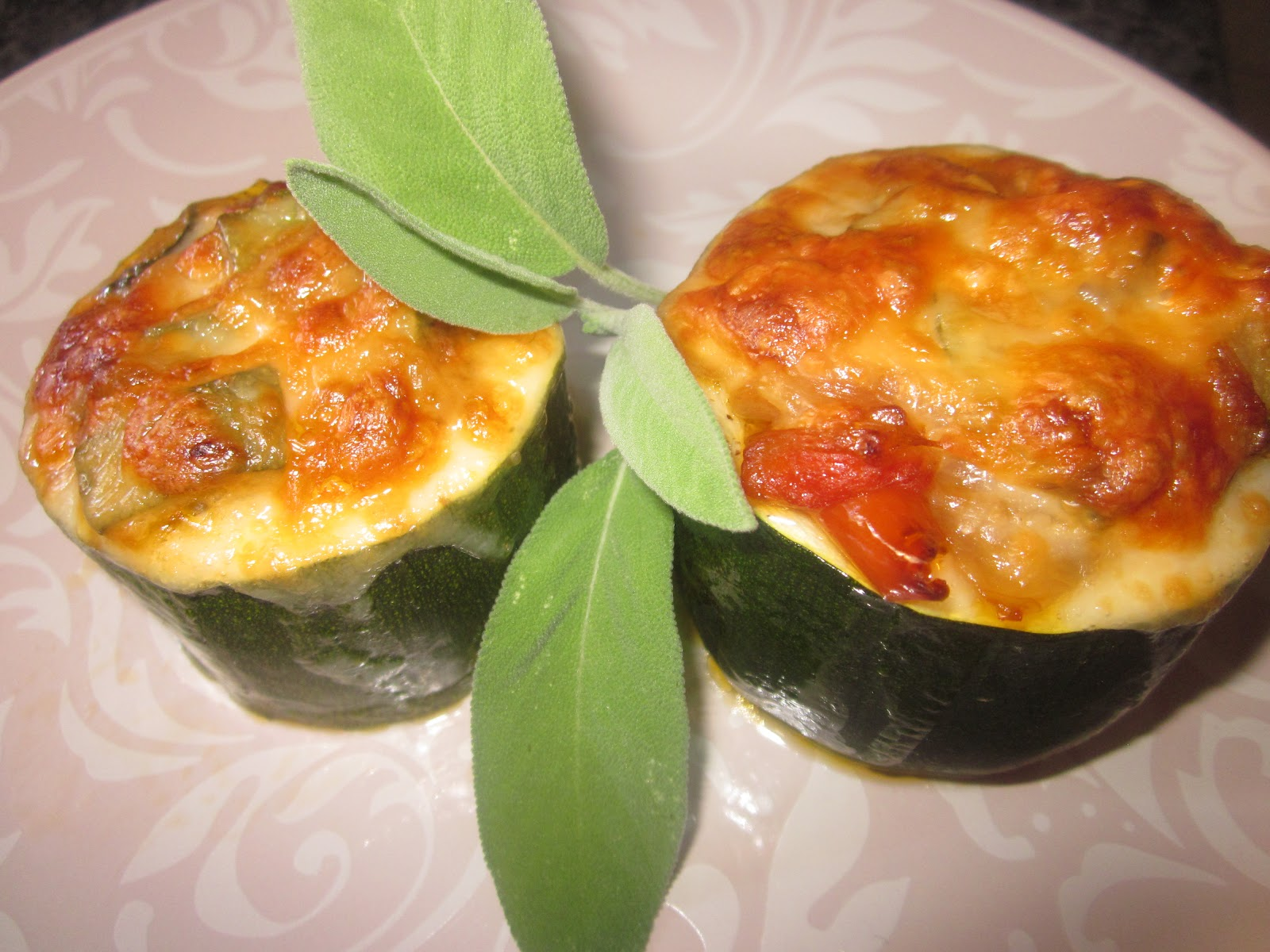 Calabacines rellenos light - Tomates rellenos light ...
