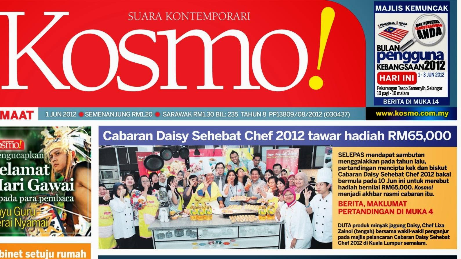KOSMOS ~ Launching Cabaran Daisy