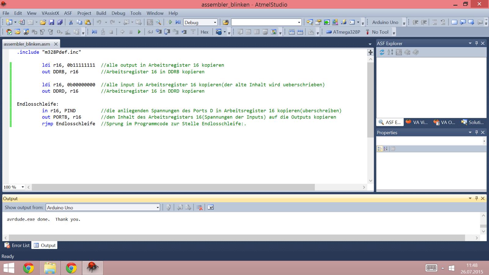 Michaelsarduino arduino in assembler programmieren