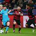 Leverkusen empata com Barcelona e se despede da Champions