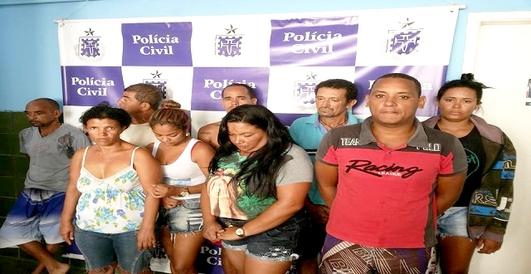 OPERAÇÃO BURIÁ MANDA TRAFICANTES DE PONTO NOVO, JAGUARARI E SENHOR DO BONFIM PARA A CADEIA