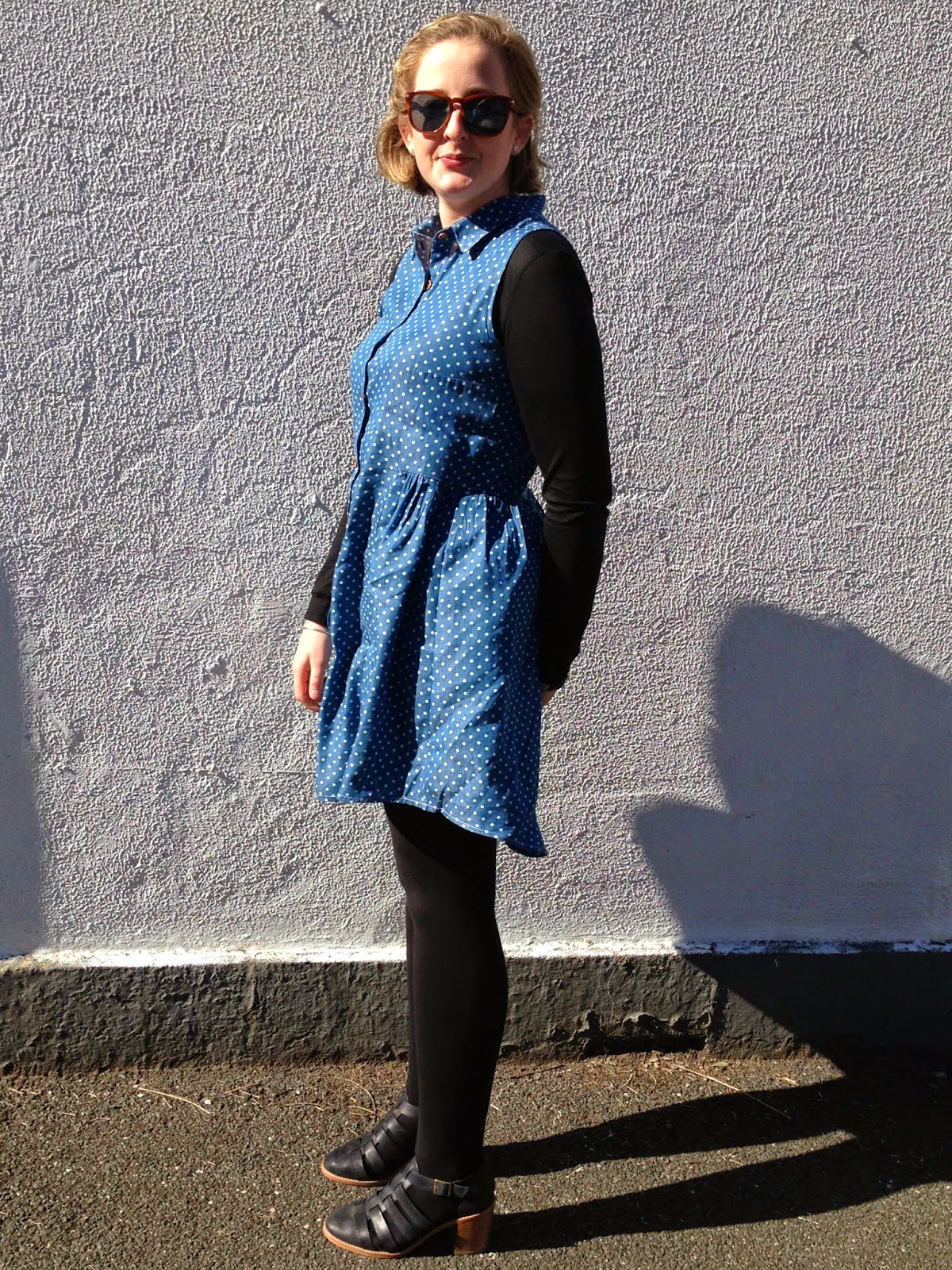Alder Shirtdress Version b