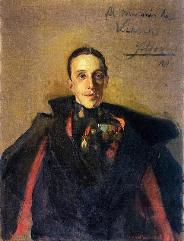 Alfonso XIII vestido con uniformes de Husar de Pavía, Retratos de Joaquín Sorolla, Joaquín Sorolla, Pintor español, Alfonso XIII