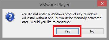 Cara Install Windows 8.1 di VMware
