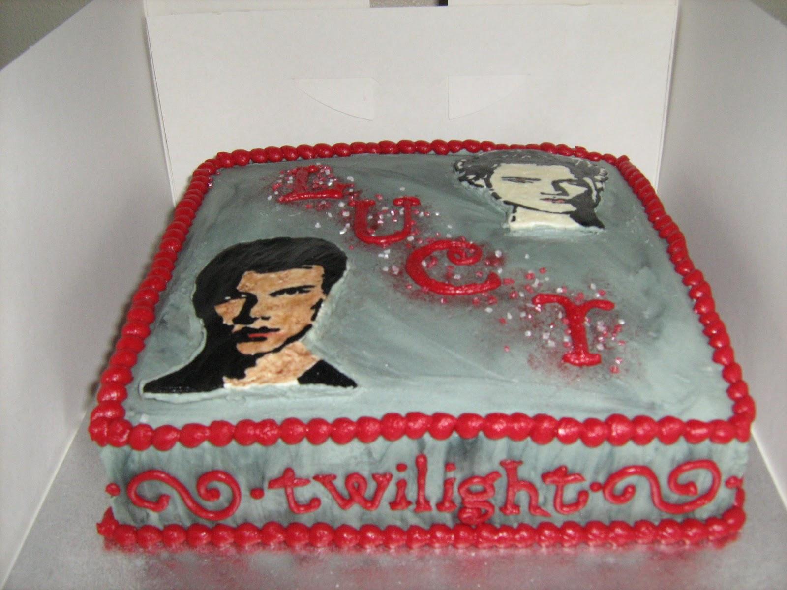 Nomnom Nosh Twilight Cake With Edward And Jacob